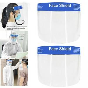 Face Protective shield anti-fog