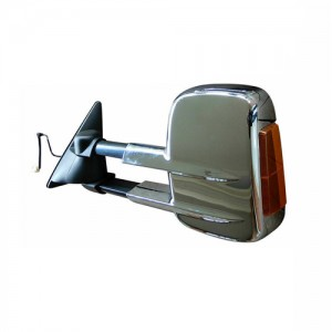 HF-7253C For TRITON PAJERO 2012+ towing mirror Electric CHROME Signal