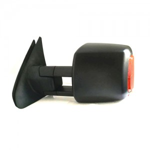 HF-7301B For ISUZU D-MAX CAROLADO MU-X towing mirror Electric Black Signal