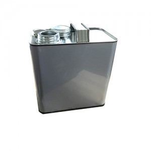 3 Liter Auto Oil Tin Can Lubricating Oil Containers Liquid Car Polish Containers