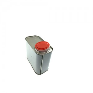 O500ml  Auto Oil Tin Can Lubricating Oil Containers Liquid Car Polish Containers